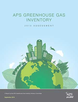 APS Greenhouse Gas Report cover