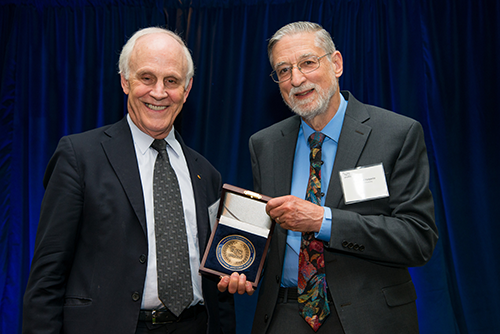 APS Medal 2019 ceremony - Halperin and Gross