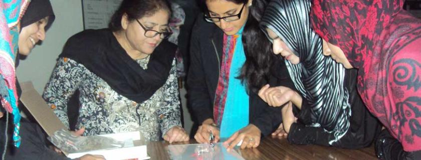 Pakistan students explore physics