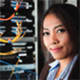 AIP report thumbnail image of woman physicist at work