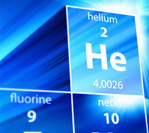 Helium image showing periodic table