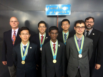 US International Physics Olympiad team