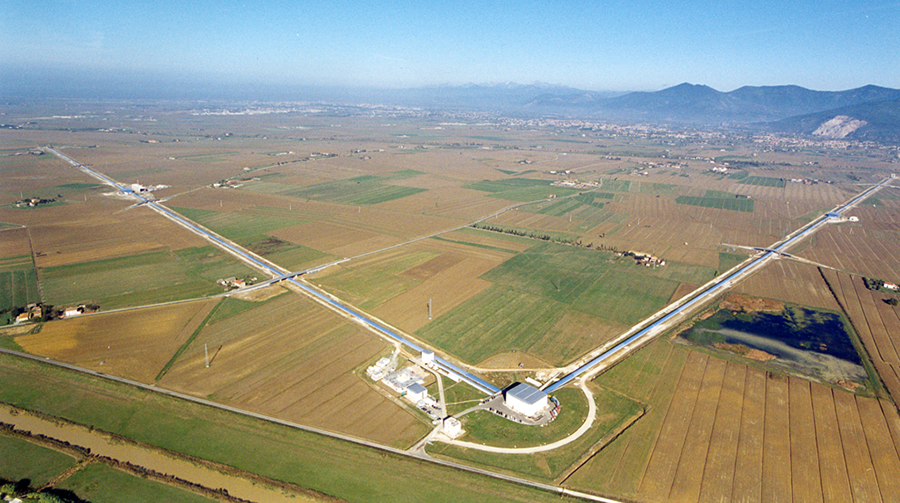 Virgo, la contraparte europea de LIGO