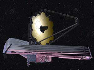 James Webb Space Telescope artist rendition