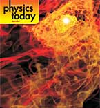 Cover of Physics Today magazine