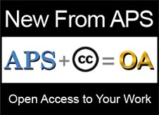 APS + Creative Commons = Open Access