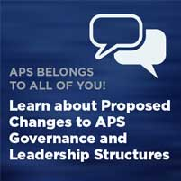 Learn About Proposed APS Governance Changes